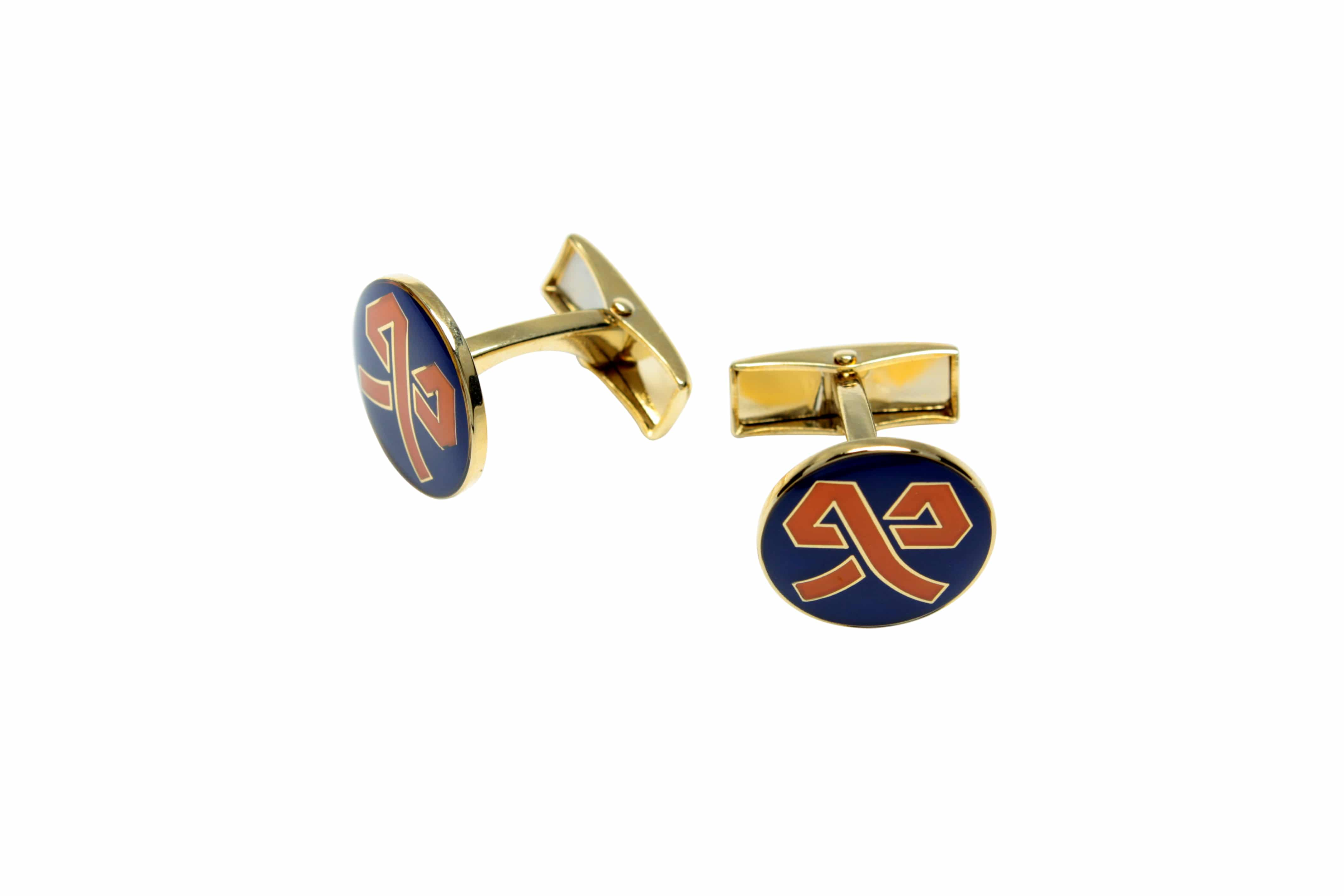 Coloured Cufflinks tailor made