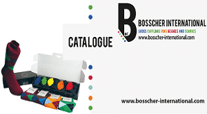 Catalogus Bosscher International Custom Socks, Customcufflinks