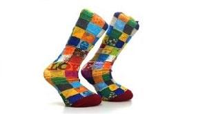 360 Degrees Printed Socks Tailor-Made