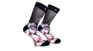 Full Colour Printed Sublimation Socks Tailor-Made