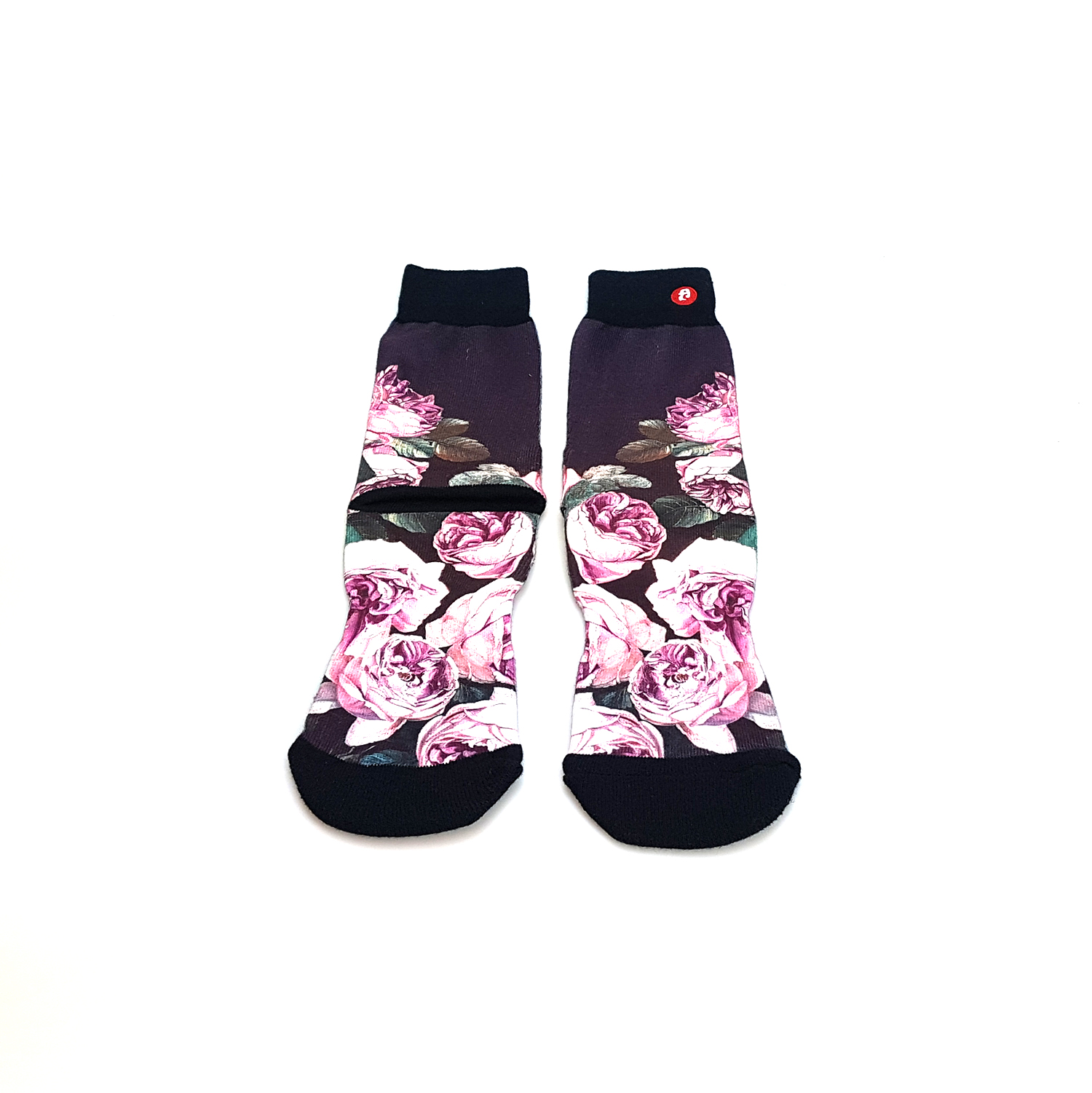 Customized Full Colour Printed Sublimation socks with company logo