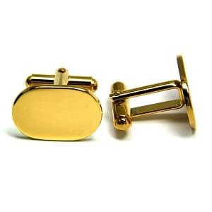Zilveren en gouden manchetknopen