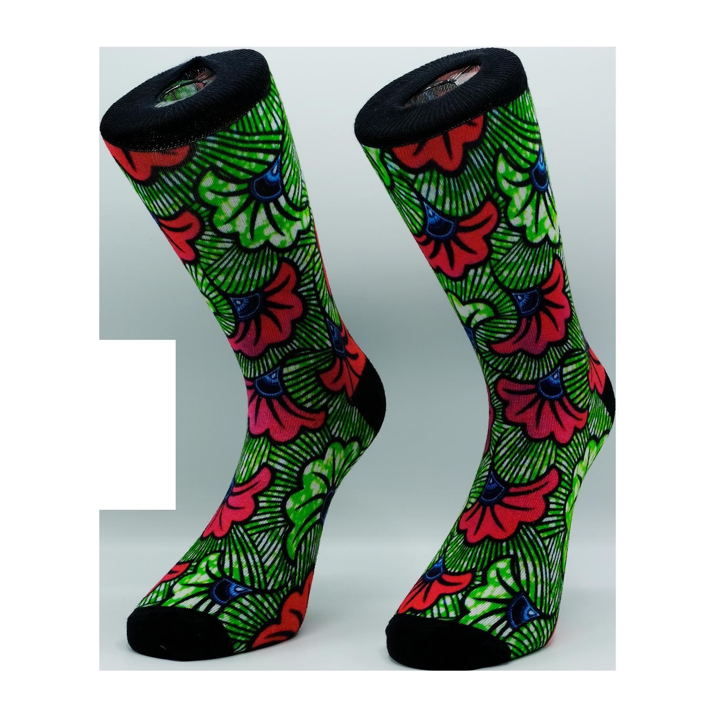 chaussettes imprimées à 360 degrés avec logo