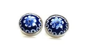 Delftsblauwe manchetknopen