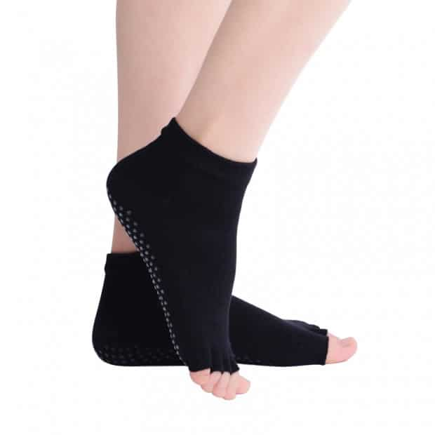 yoga sokken vrije tenen